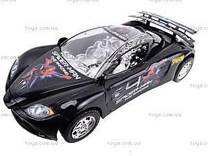 Машинка инерционная «Спайдермен», 3138F, детские игрушки