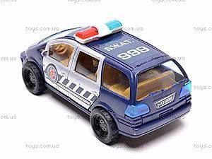 Машинка инерционная «SWAT», 999-064B, фото