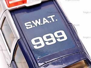 Машинка инерционная «SWAT», 999-064B, игрушки