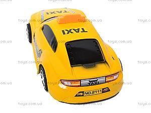 Машинка инерционная «Такси», 2111, магазин игрушек