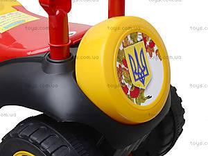 Машинка-каталка «Автошка» с украинской песней, 013117R,U24, отзывы