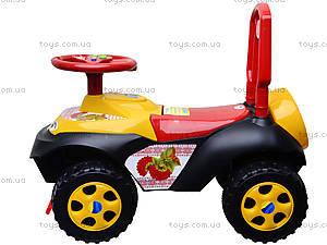 Машинка-каталка «Автошка» с украинской песней, 013117R,U24, игрушки