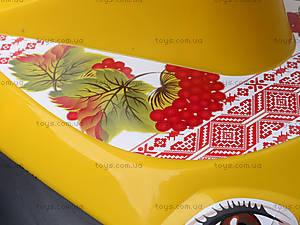 Машинка-каталка «Автошка» с украинской песней, 013117R,U24, детские игрушки