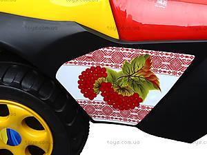 Машинка-каталка «Автошка» с украинской песней, 013117R,U24, toys