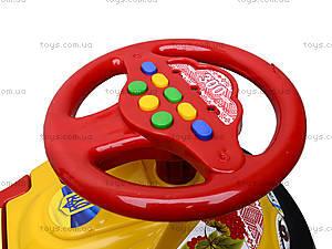 Машинка-каталка «Автошка» с украинской песней, 013117R,U24, іграшки