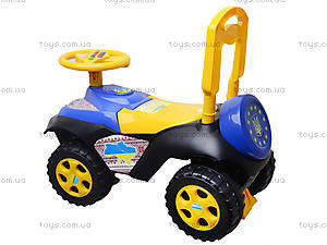 Машинка-толокар «Автошка», 013117R,U25, детские игрушки