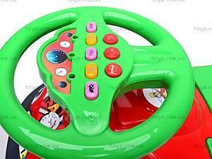 Машинка-каталка для детей «Автошка», 013117R,U12, фото