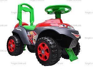 Машинка-каталка для детей «Автошка», 013117R,U12, игрушки