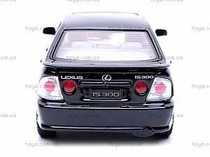 Машинка Lexus IS 300, KT5046W, цена