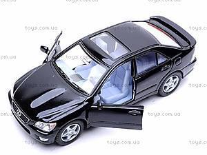 Машинка Lexus IS 300, KT5046W, игрушки