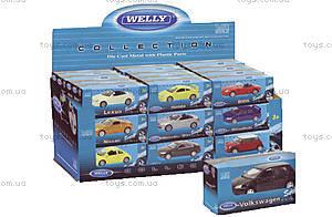 Машинка, масштаб 1:60, 52020-36W