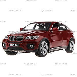 Машинка Meizhi BMW X6 металлическая (красный), MZ-25019Ar, отзывы