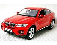 Машинка Meizhi BMW X6 металлическая (красный), MZ-25019Ar, фото