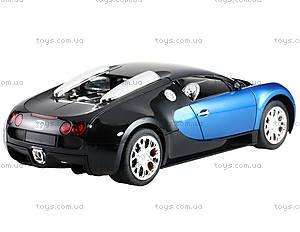Машинка Meizhi Bugatti Veyron (синий), MZ-2032b, фото