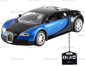 Машинка Meizhi Bugatti Veyron (синий), MZ-2032b