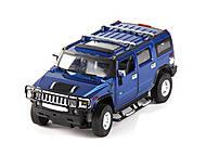 Машинка Meizhi Hummer H2 металлическая (синий), MZ-25020Ab, отзывы