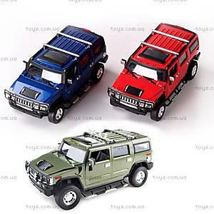 Машинка Meizhi Hummer H2 металлическая (зеленый), MZ-25020Ag, купить