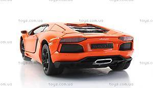 Машинка Meizhi Lamborghini металлическая (оранжевый), MZ-25021Ao, отзывы