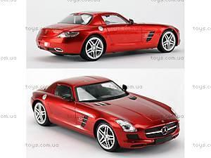 Машинка Meizhi Mercedes-Benz SLS AMG (красный), MZ-2024r, купить
