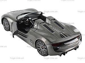Машинка Meizhi Porsche (серый), MZ-2046g