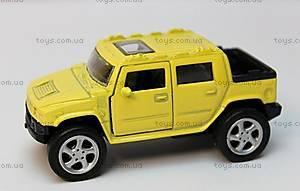 Машинка металлическая для детей, 912-1W