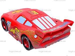 Машинка музыкальная «Тачки» для детей, 7658-83A, отзывы