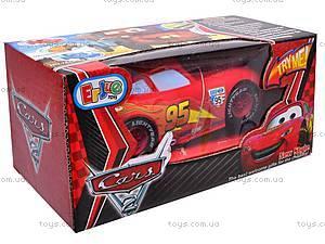Машинка музыкальная «Тачки» для детей, 7658-83A, цена