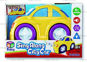 Машинка музыкальная «Такси», K12843
