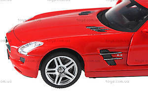 Машинка на радиоуправлении Mercedes-Benz SLS AMG, красная, MZ-25046Аr, купить