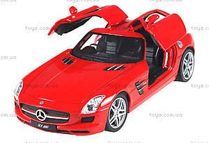 Машинка на радиоуправлении Mercedes-Benz SLS AMG, красная, MZ-25046Аr, цена