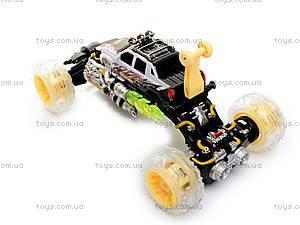 Машинка-перевертыш, с пультом р/у, 333-FD023, игрушки