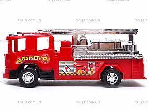 Машинка «Пожарная служба», 120, фото