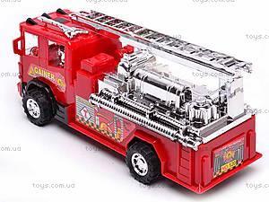 Машинка «Пожарная служба», 120, отзывы