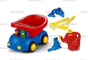 Машинка «Птис», с песочным набором, 0611