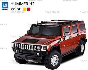 Машинка радиоуправляемая Hummer H2, красный, SQW8004-H2r
