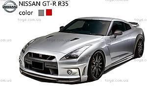 Машинка радиоуправляемая Nissan GT-R, серый, SQW8004-GTg