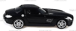 Лицензионная радиоуправляемая машинка Mercedes-Benz SLS AMG, цвет черный, MZ-25046Аb, купить