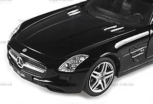 Лицензионная радиоуправляемая машинка Mercedes-Benz SLS AMG, цвет черный, MZ-25046Аb, отзывы