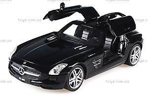 Лицензионная радиоуправляемая машинка Mercedes-Benz SLS AMG, цвет черный, MZ-25046Аb, цена
