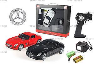 Лицензионная радиоуправляемая машинка Mercedes-Benz SLS AMG, цвет черный, MZ-25046Аb