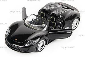 Машинка радиоуправляемая Porsche 918, черная, MZ-25045Ab, купить