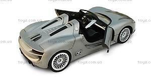 Металлическая модель на радиоуправлении Porsche 918, MZ-25045Ag, цена