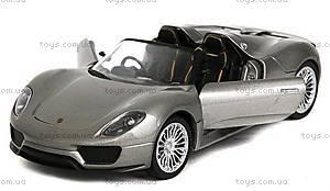 Металлическая модель на радиоуправлении Porsche 918, MZ-25045Ag, фото