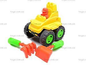 Машинка, с лопаткой и граблями, 894B