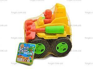 Машинка, с лопаткой и граблями, 894B, игрушки