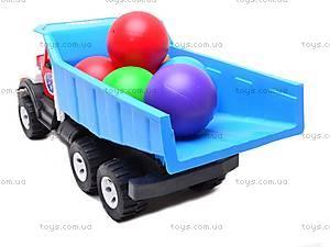 Машинка-самосвал, с шариками, 0092, фото