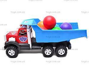 Машинка-самосвал, с шариками, 0092, цена