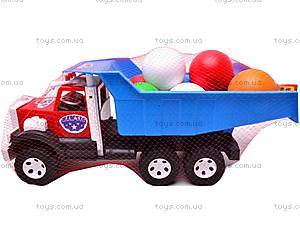 Машинка-самосвал, с шариками, 0092, игрушки