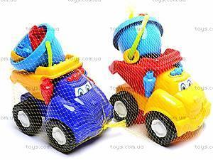 Машинка «Смайл», с песочным набором, 0145, детские игрушки
