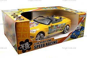 Машинка Sponge Bob, на радиоуправлении, UD2090B, отзывы